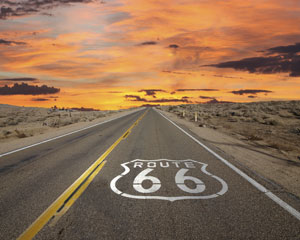roadtrip på route 66
