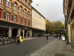 Shopping i Oslo