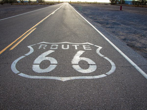 Route 66 - Roadtrip i USA