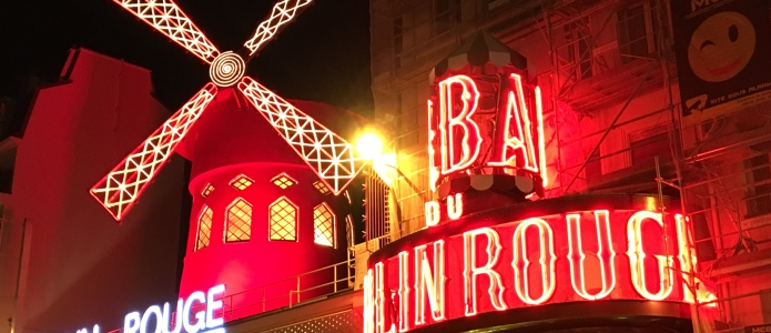 Moulin Rouge i Paris