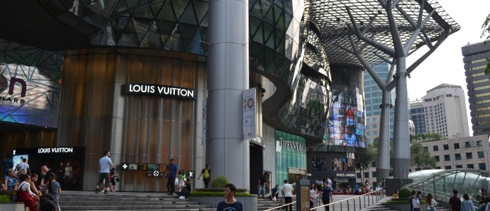 Shopping i Singapore på Orchard Road