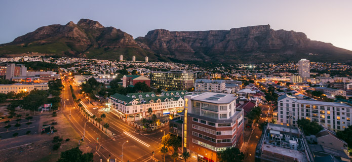 Storbyferie i Cape Town
