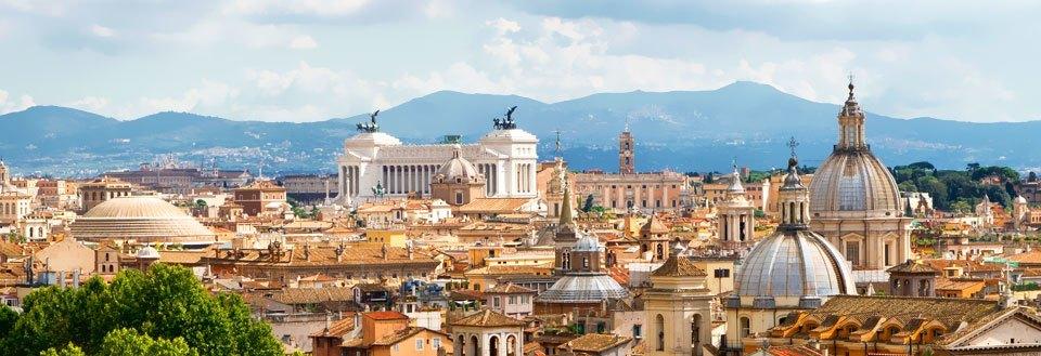 rom rejser billig