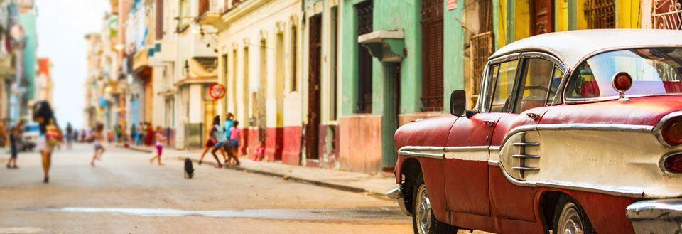 rejsetid til cuba